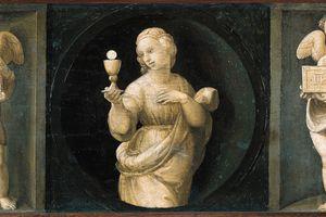 Theological Virtues: Faith by Raphael