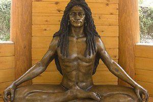 Modern-day Bronze Likeness of Baba Siri Chand