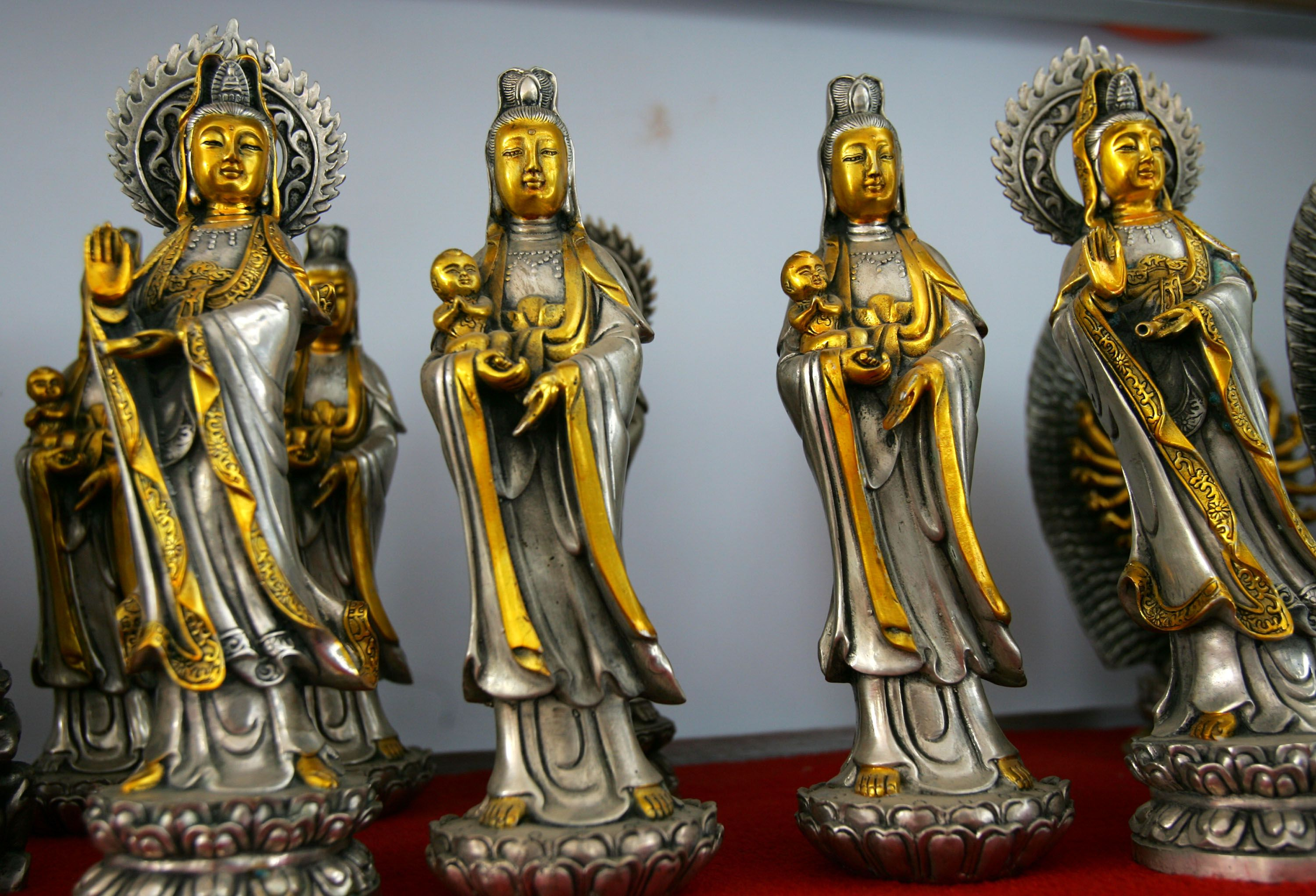 Four Guanyins