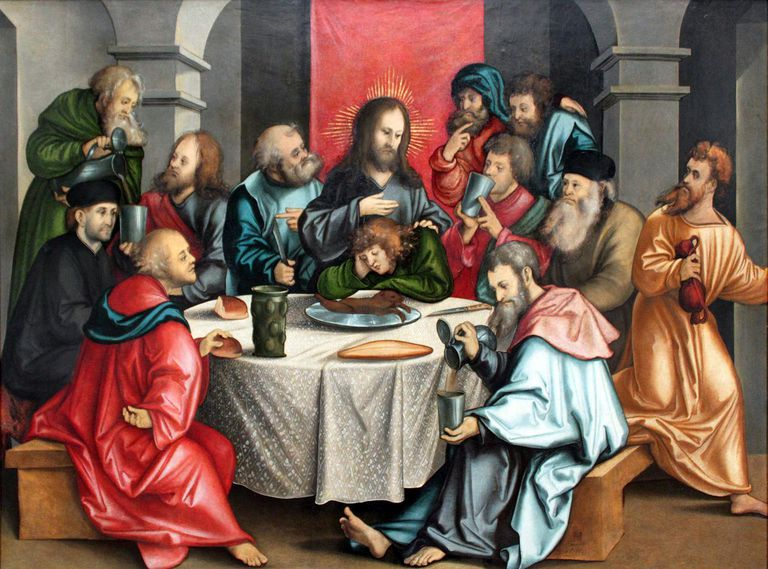 The Last Supper by Hans Leonhard Schäufelein (1511)