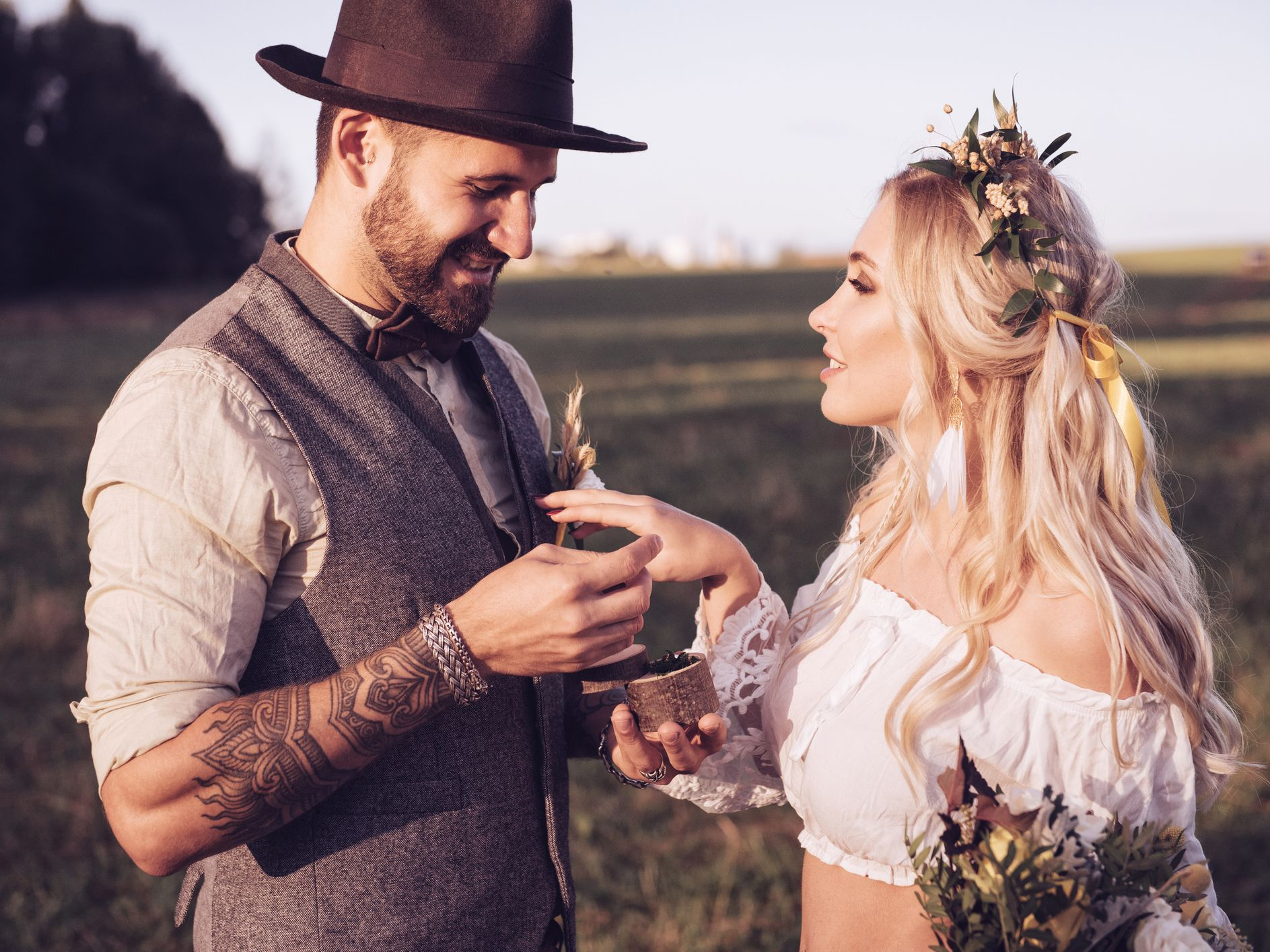 Who Can Perform a Pagan Handfasting or Wedding?