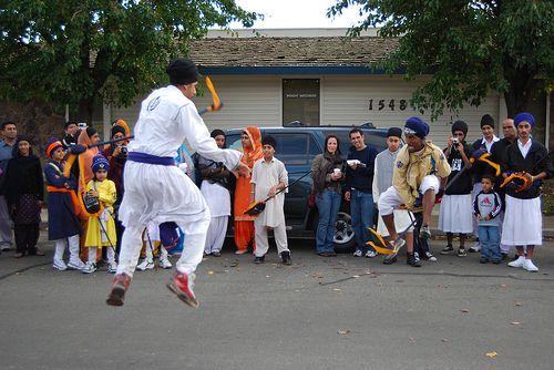 Yuba City Guru Gadee Gatka Demonstration