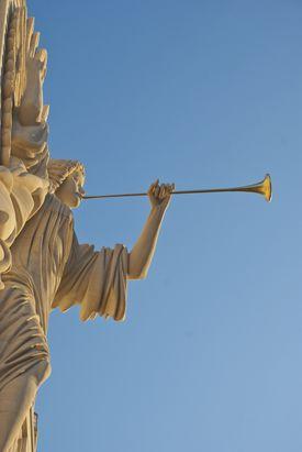 Saint Gabriel the Archangel with horn