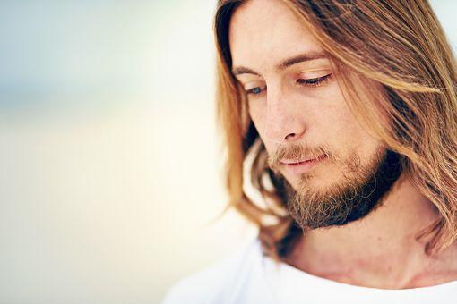 A model depiction of Jesus Christ