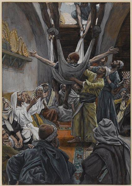 Jesus healing miracle paralytic