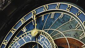 Astronomical Clock On Church