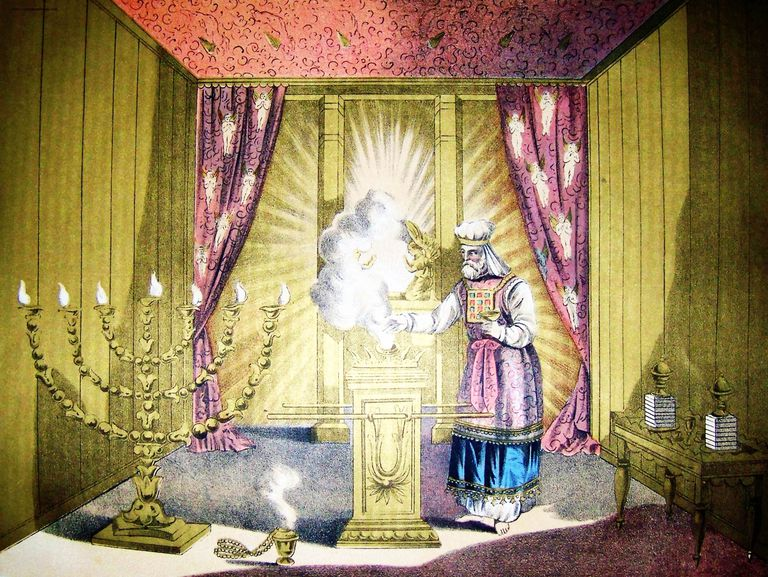Holy of Holies in the tabernacle