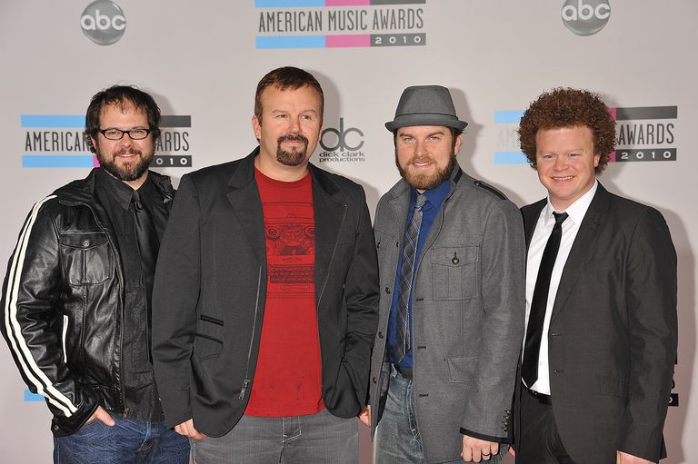 Casting Crowns at 2010 American Music Awards