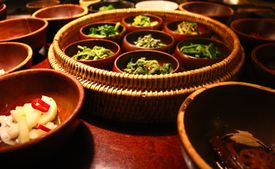 Buddhist temple food in Korea