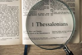 Book of 1 Thessalonians, The New International Version