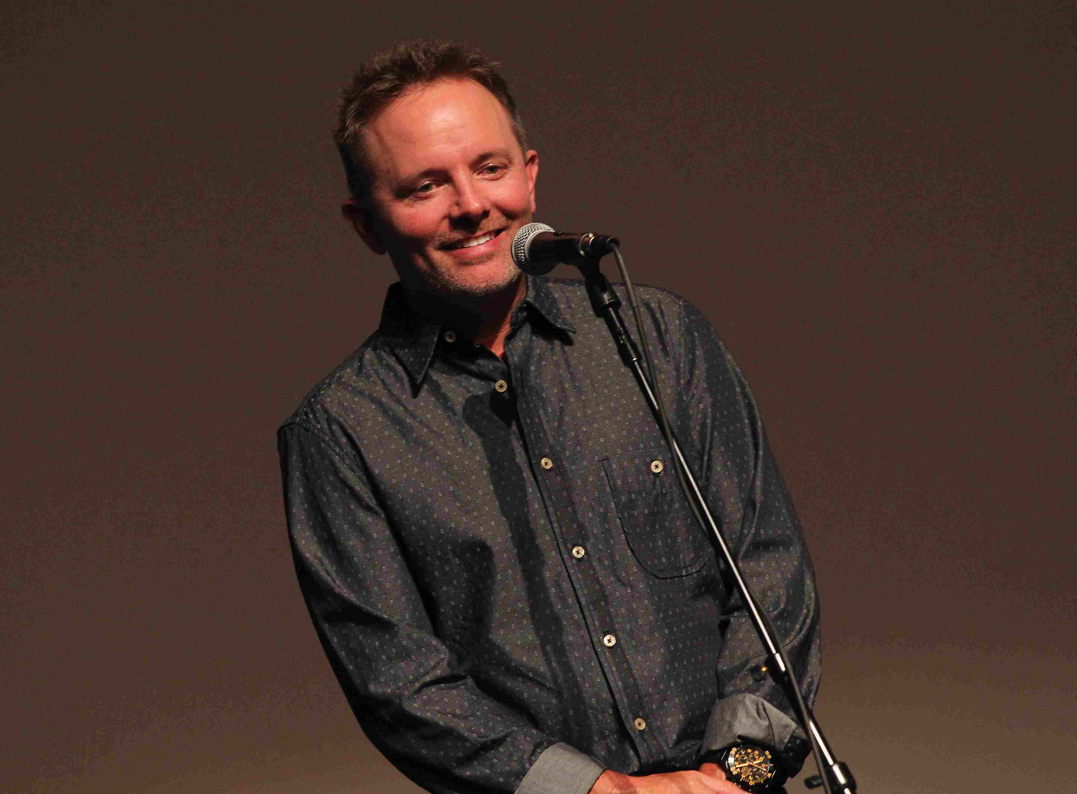 Chris Tomlin at 4th Annual KLOVE Fan Awards At The Grand Ole Opry House - Press Room & Backstage