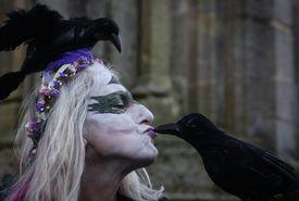 The Festival Of Samhain Is Celebrated In Glastonbury