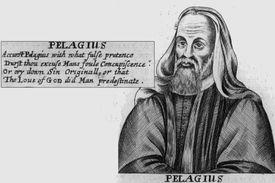British monk Pelagius (circa 354 – 420 AD)