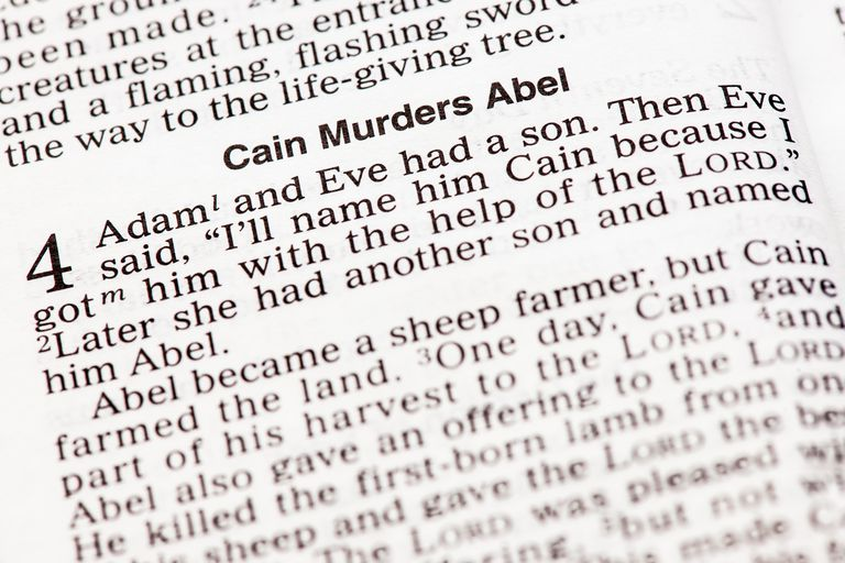Bible Cain murders Abel