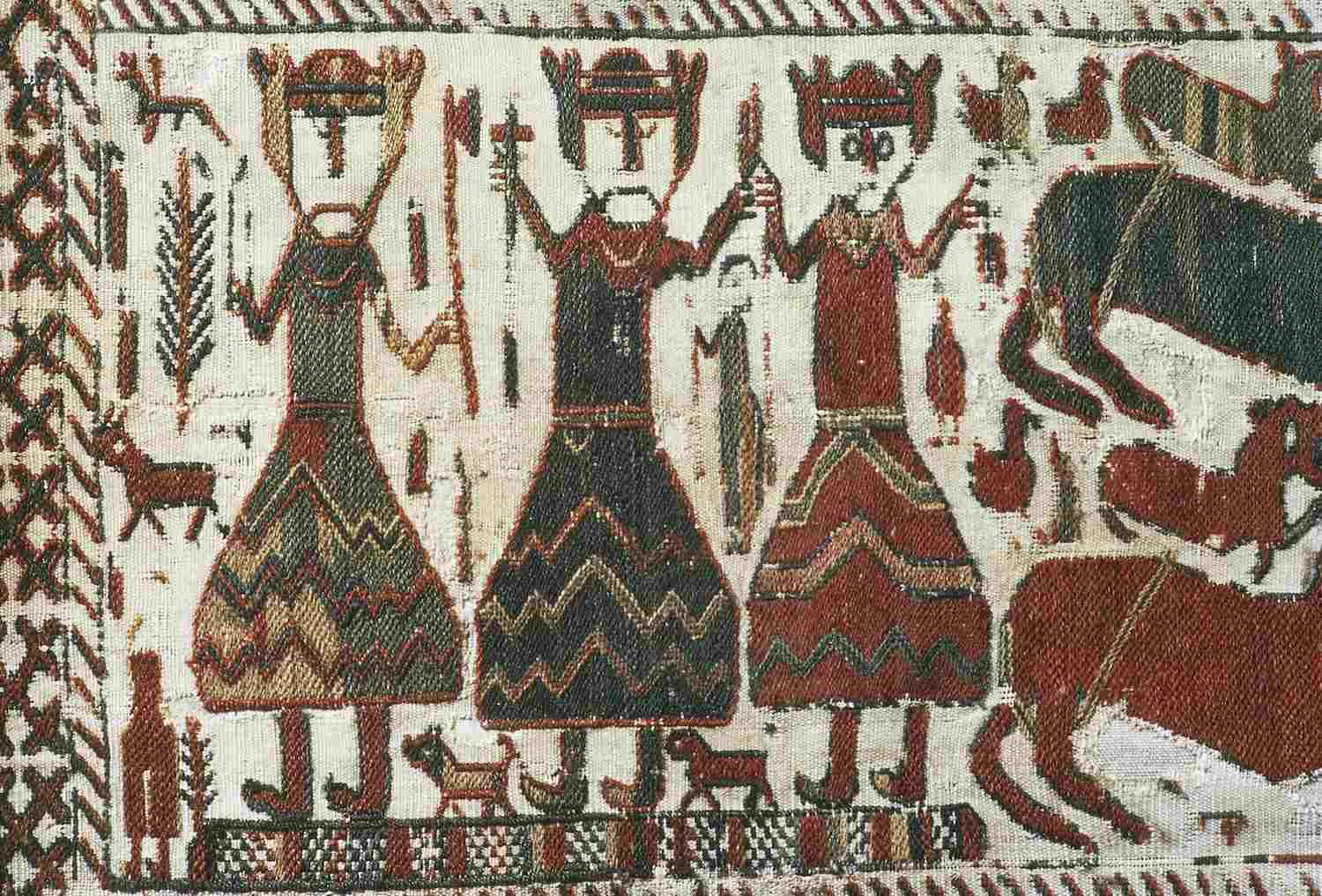 Norse Gods on Tapestry