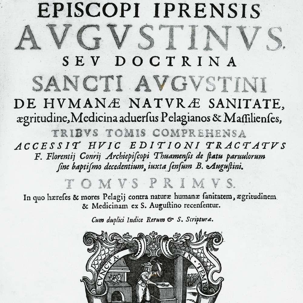 Augustinus, by Cornelius Jansen