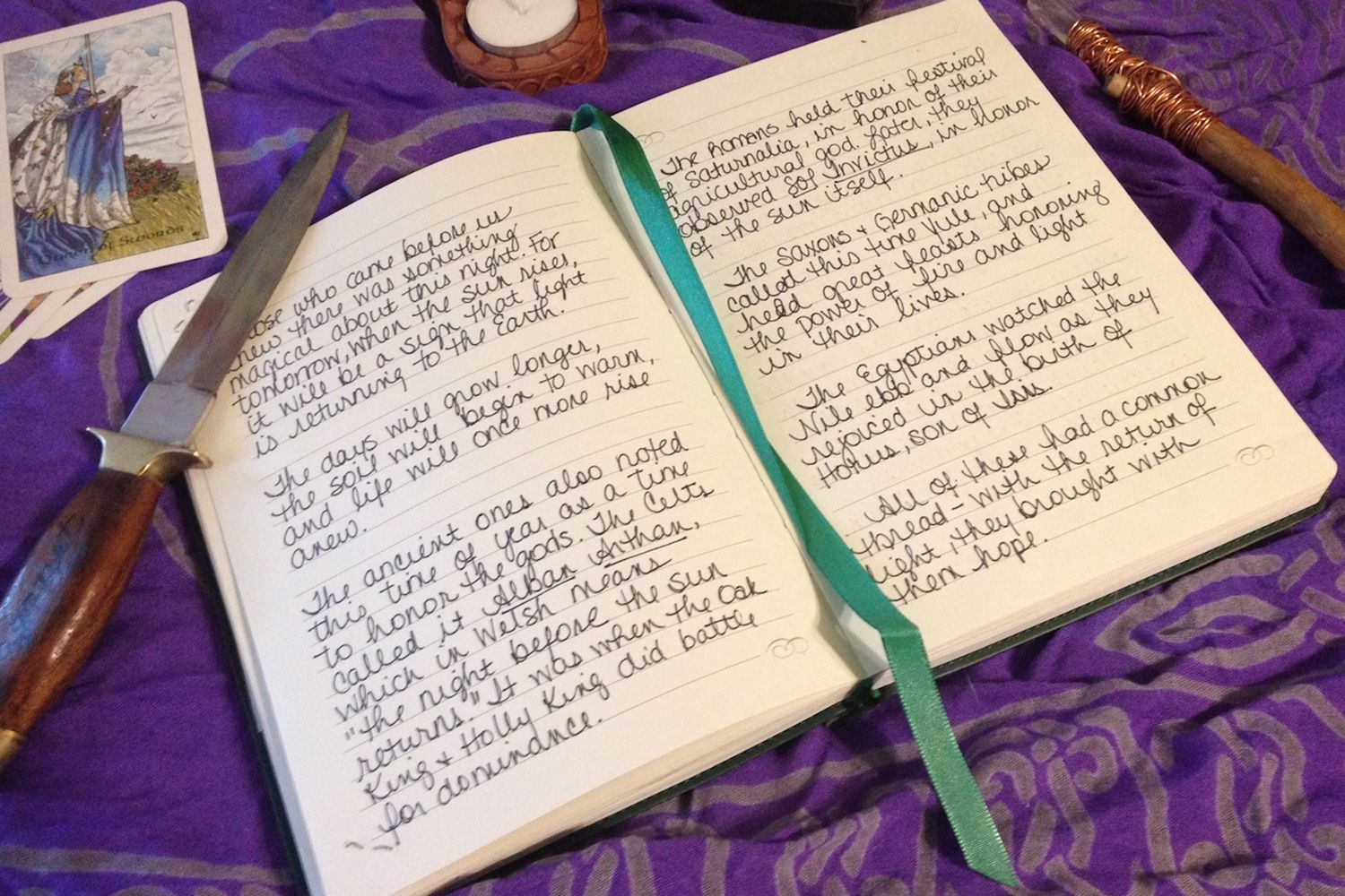 How To Make A Pagan Book Of Shadows