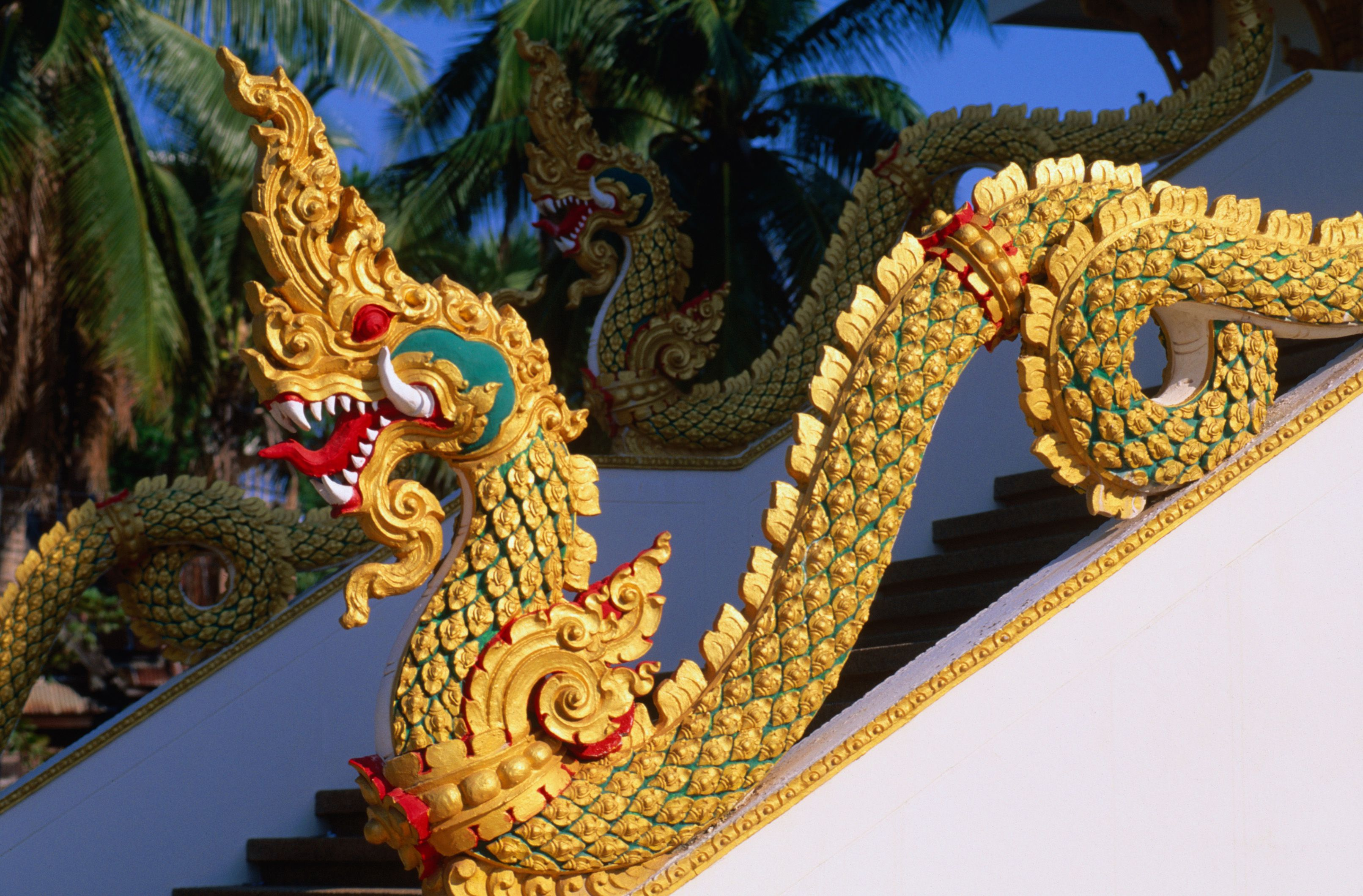 Naga Guarding Temple