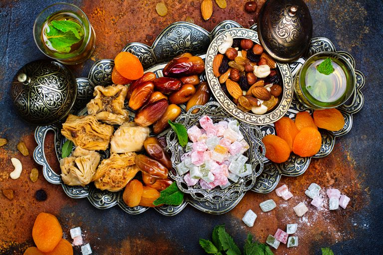 Iftar meal during the month of Ramadan
