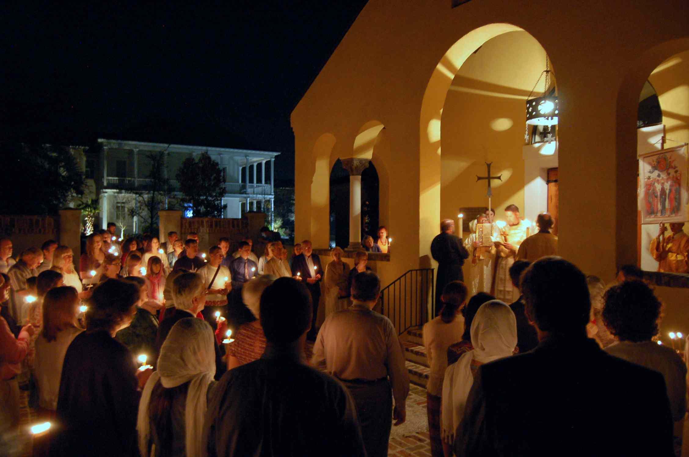 Holy Ascension Orthodox Church Paschal Vigil