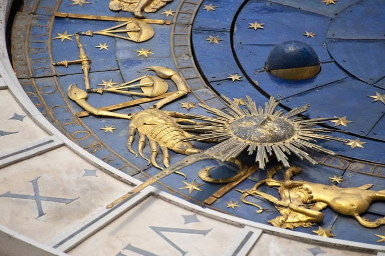 Piazza (square) San Marco, Clock Tower detail