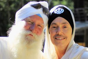 Sikh Man and Woman
