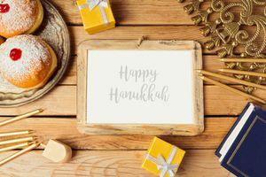 Hanukkah holiday photo