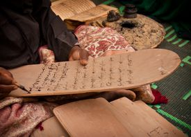 Writing koran boards