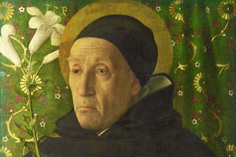 Portrait of Meister Eckhart