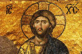 Eastern Orthodox Church History mosaic of Jesus Christ