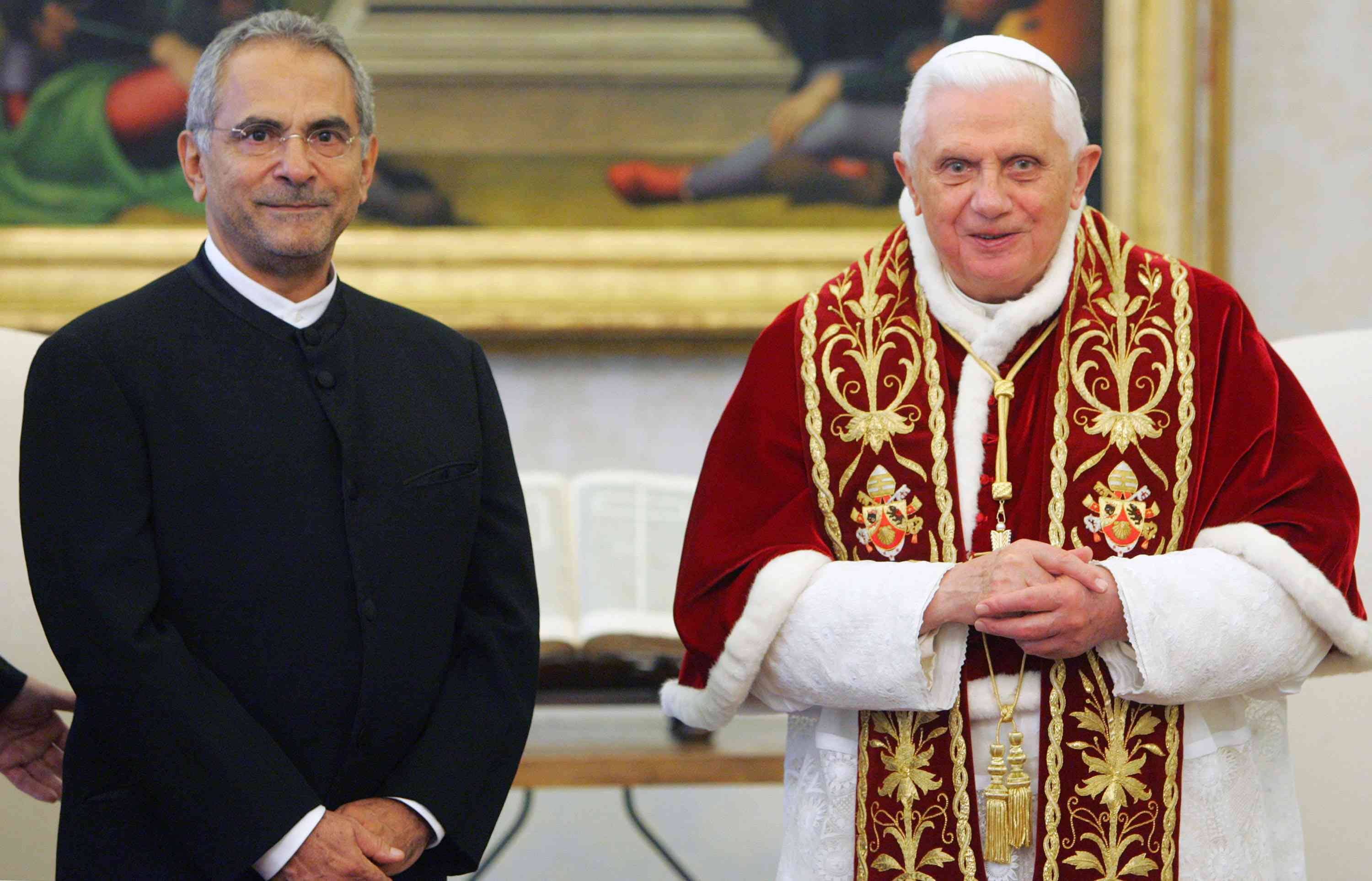The Pope Meets with East Timor President Jose Ramos-Horta