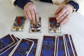 Tarot card reading, Yvelines, France, Europe