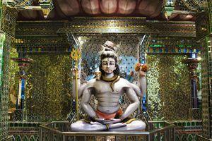 Captivating idol of the Hindu Lord Shiva