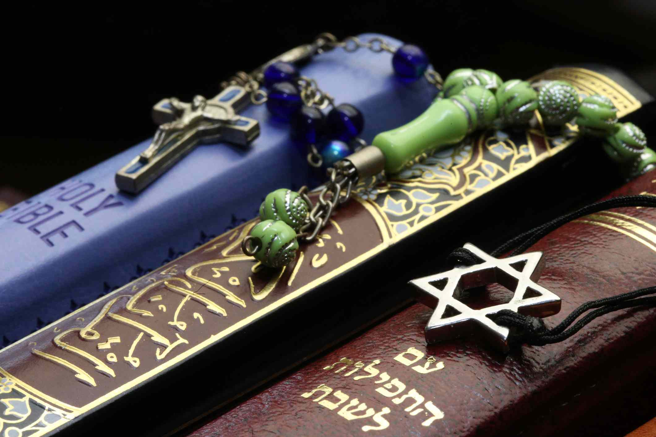 Abrahamic Religions - Christianity, Islam and Judaism.
