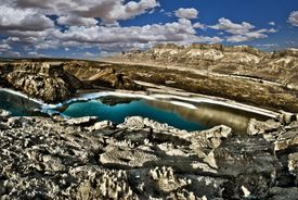 Dead Sea sink holes