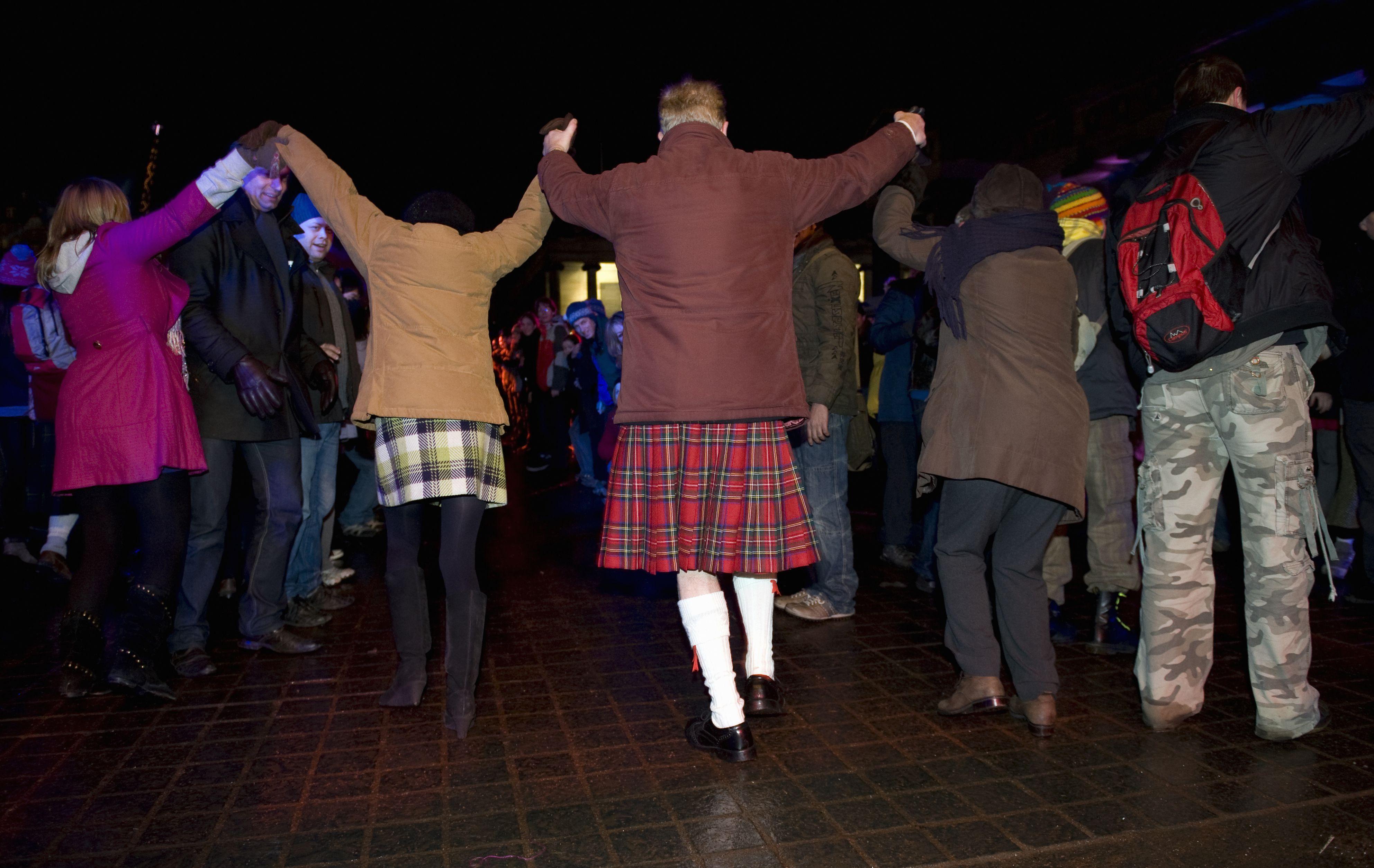Hogmanay, Edinburgh, Scotland, New Years Eve 2009