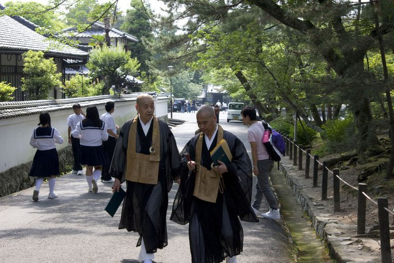 Rinzai Zen monks of Nanzenji Temple, Kyoto