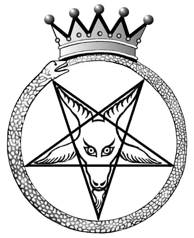 Crown Baphomet - Seal of Satan