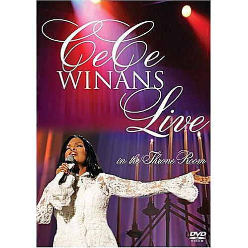 Cece Winans - Live in the Throne Room DVD cover