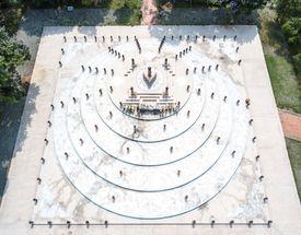 aerial view of Chiang Rai