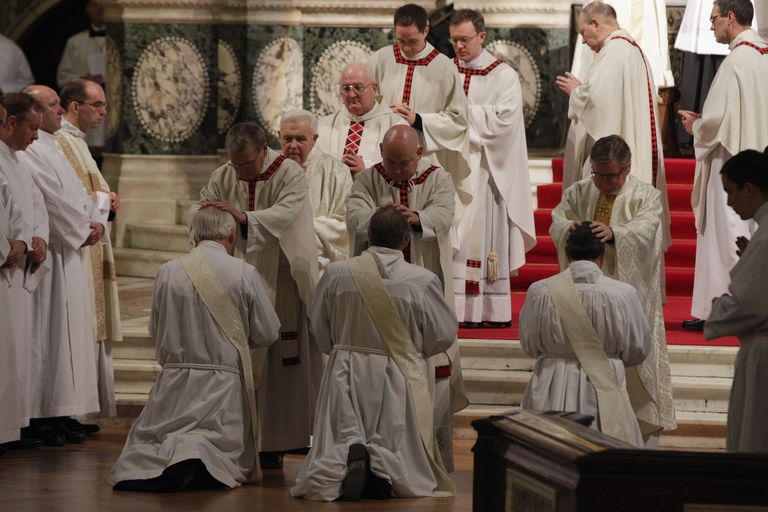 Former Church Of England Bishops Are Ordained As Catholic Priests