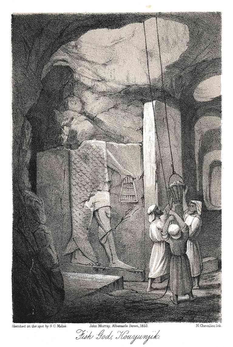 Dagon - Chief God of the Philistines