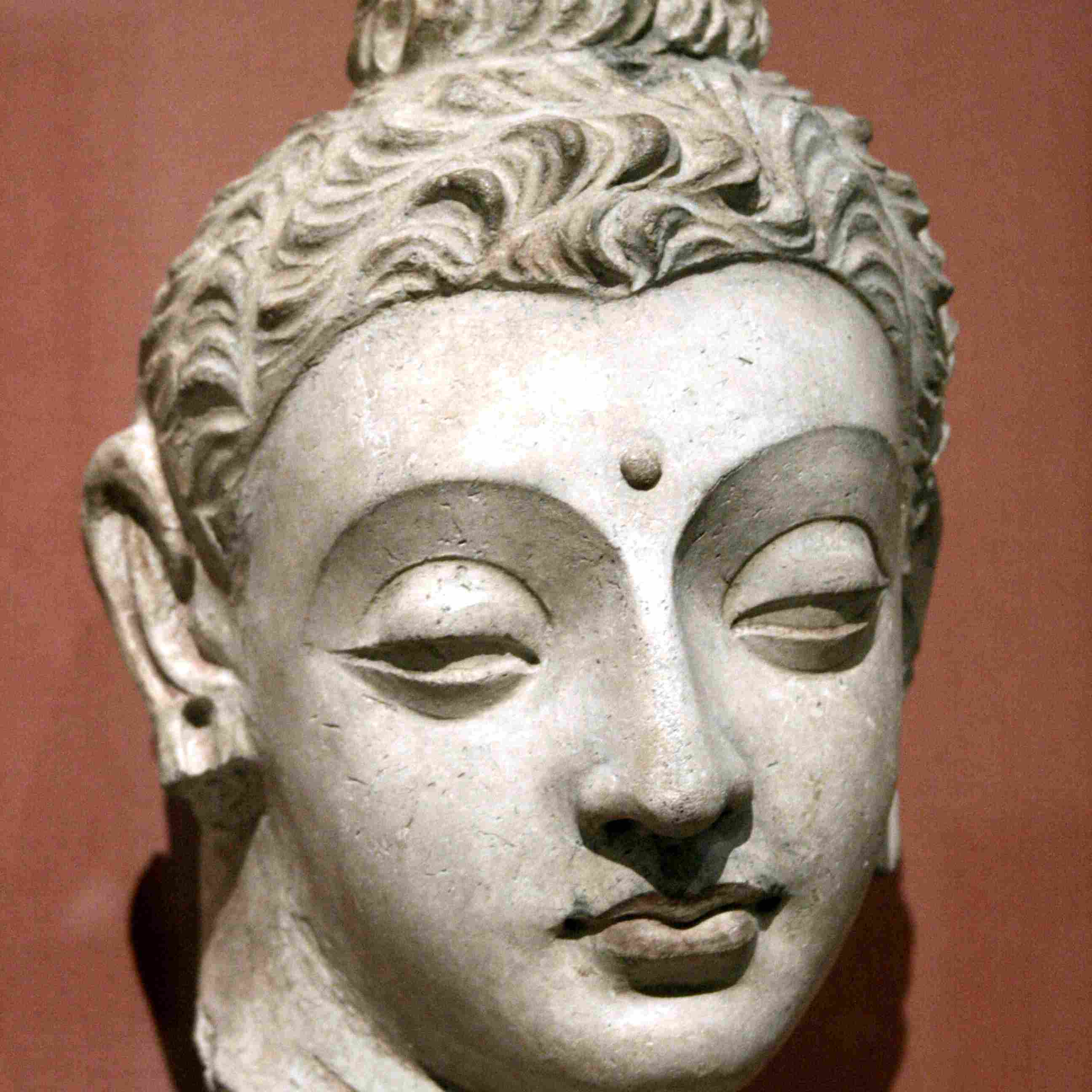 Head of Buddha from Afghanistan