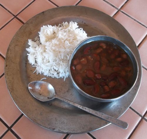 Rajma Curried Chili with Red Kidney and Pinto Beans