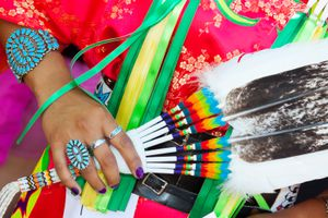 Santa Fe Indian Market, Native American New Mexico, USA