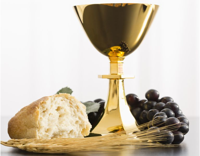 Transubstantiation bread and wine