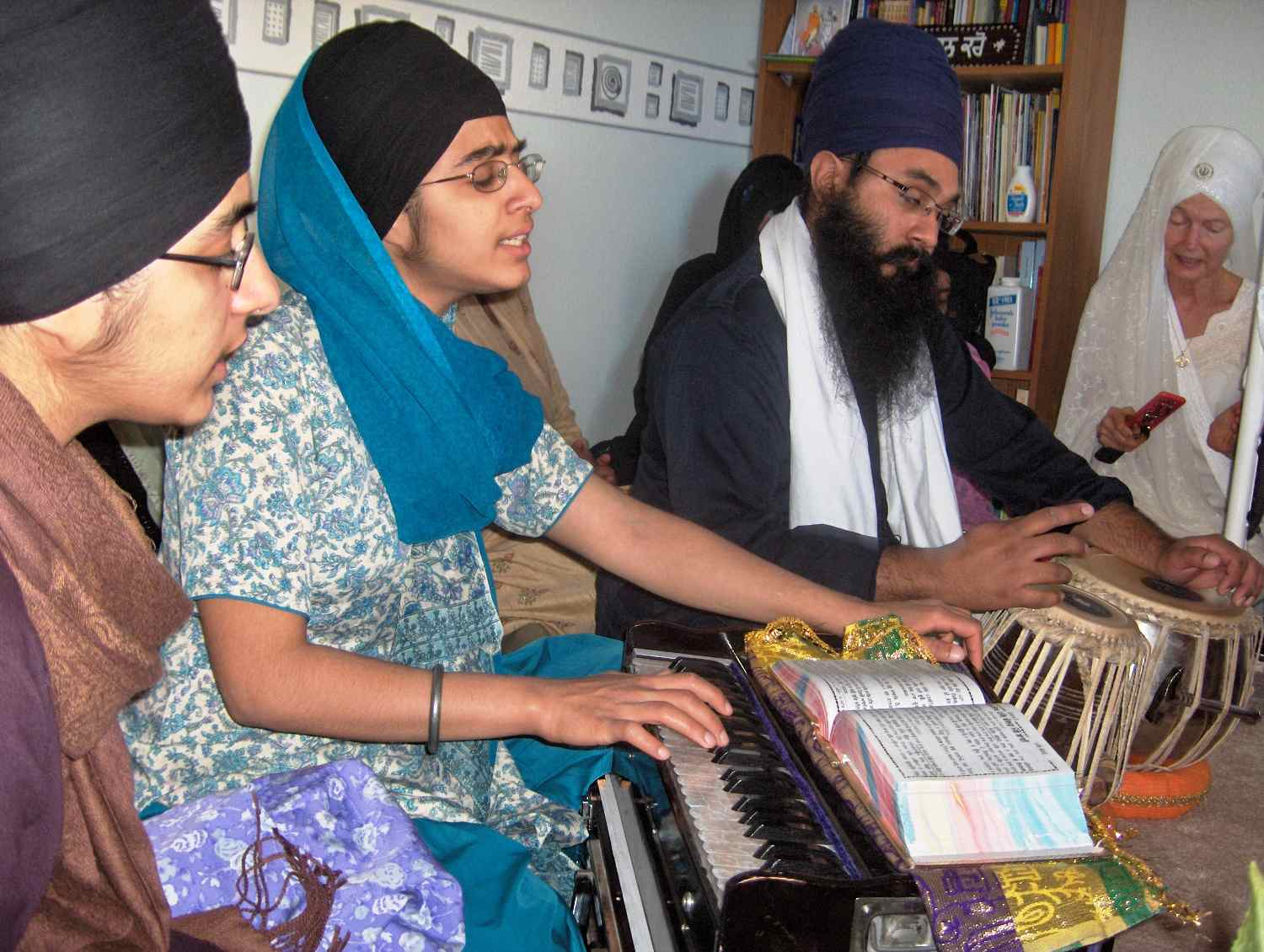 The Yearning Soul Engaged in Simran and Singing