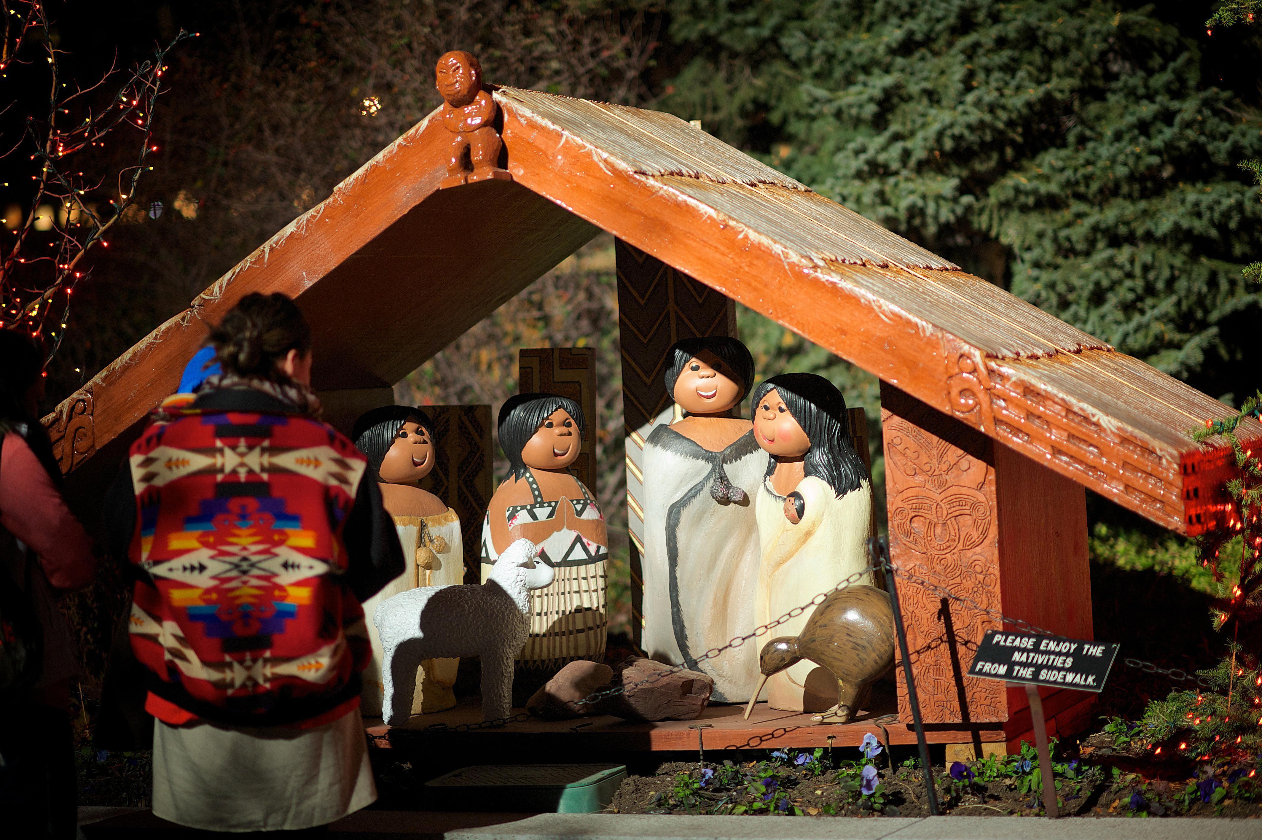 Maori Nativity