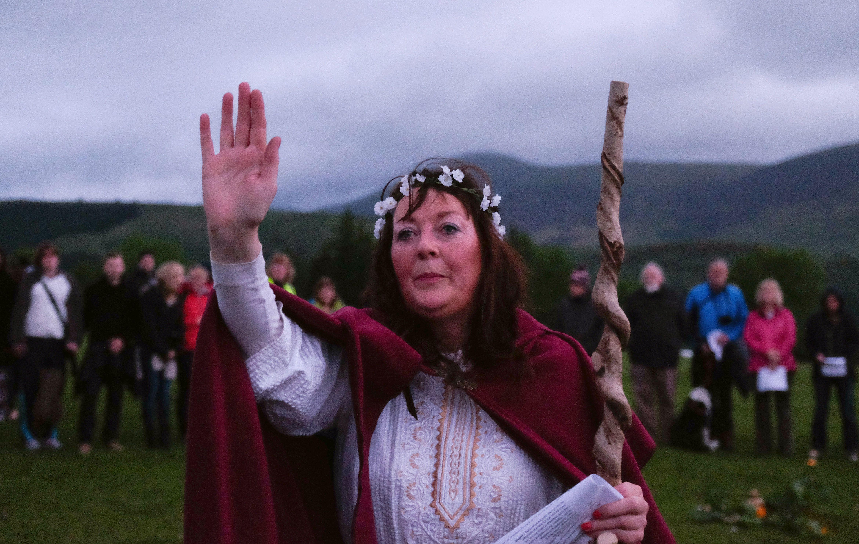 Celebrating The Summer Solstice At Castlerigg