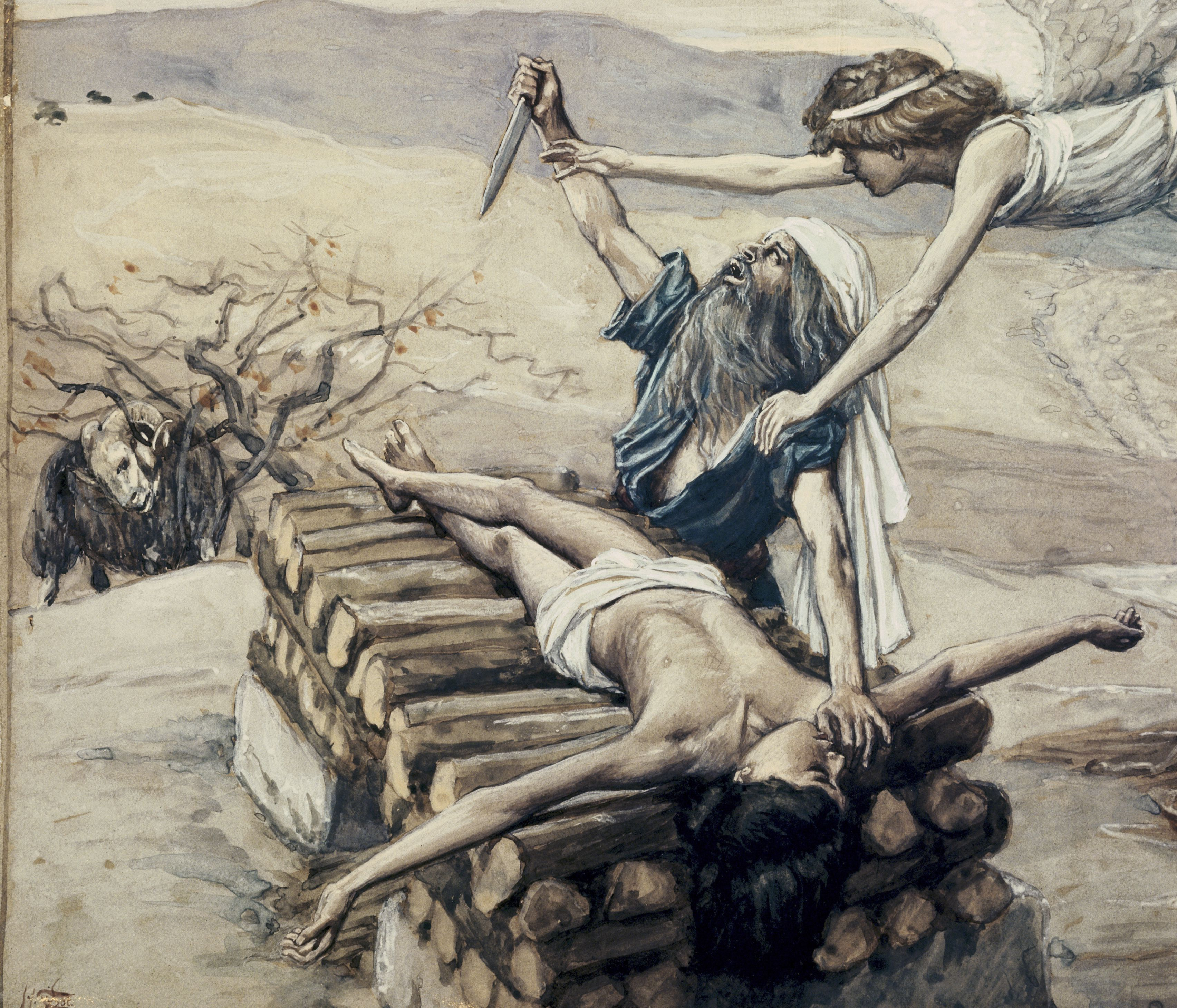 The Offering of Abraham by James Tissot